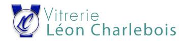 Logo de Vitrerie Léon Charlebois